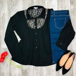 TOP AND JEANS OUTFIT